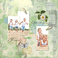 Digital layout using ScrapSimple Digital Layout Template: Whimsical Templates Vol3 by On A Whimsical Adventure
