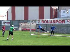 Nemanja Andjelic goalkeeper training at Viborg Koceic academy Goalkeeper Training, Soccer Goalie, Viborg, Drills, Conditioning, Kara, Strength, Football, Goals