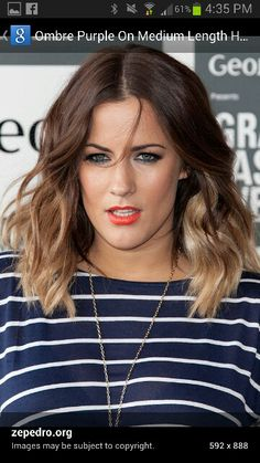 Short Ombre Hair.. might cut my hair :$