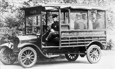 Paddy wagon... tough ride
