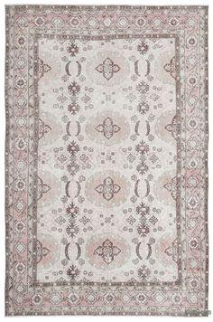 K0019486 Turkish Vintage Rug | Kilim Rugs, Overdyed Vintage Rugs, Hand-made Turkish Rugs, Patchwork Carpets by Kilim.com