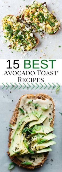15 Best Avocado Toast Recipes Vegetarian Recipes, Cooking Recipes, Healthy Recipes, Cooking Pasta, Cooking Pork, Easy Cooking, Diet Recipes, Cooking Turkey, Cooking Light