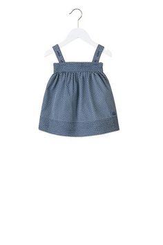 Lupe Dot Denim Dress - Marc Jacobs