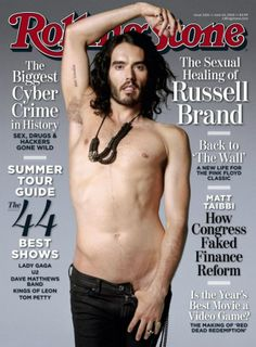 Russell Brand for Rolling Stone Magazine, June 2010
