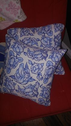 Mom accidentally buys NSFW throw pillows. If you don't see it at first, keep looking. =D