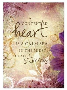 Contented Heart