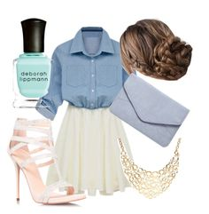 """""""Gracie"""" by princessavey14 ❤ liked on Polyvore featuring Carvela, Coach, Dorothy Perkins and Deborah Lippmann"""