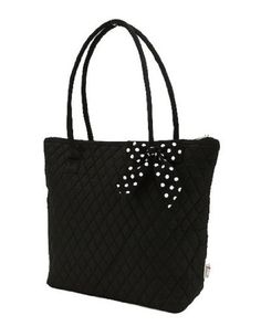 Belvah Medium Quilted Solid Tote Handbag - Choice of Colors