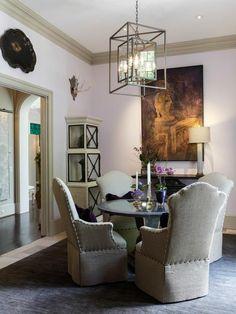 decor, chair, dine room, hgtv folio, pendant lights
