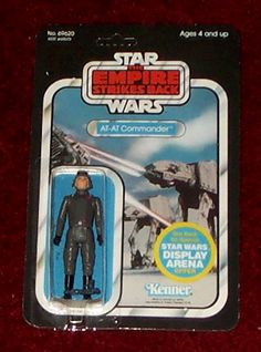 Kenner Empire Strikes Back Action Figure - AT-AT Commander