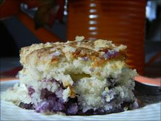 Easy blueberry cream cheese  Coffee Cake Recipes | Musing Potpourri: Blueberry Cream Cheese Coffee Cake.....(may try to substitute blackberries for max.....)