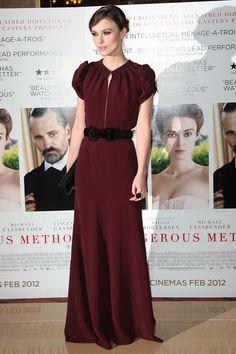 2012 'A Dangerous Method' London Premiere - Keira Knightley