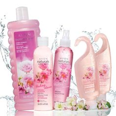 Take a trip with your senses with the alluring scent of blushing cherry blossoms & sweet fruit. A $30 value, the collection includes:Bubble Delight Bubble Bath – 24 fl. oz. An $8 value.Naturals Body Lotion – 8.4 fl. oz. A $6 value.Naturals Body Spray – 8.4 fl. oz. An $8 value.2 Naturals Hydrating Shower Gel – Each, 5 fl. oz. A $4 value each. https://denisepoole.avonrepresentative.com/
