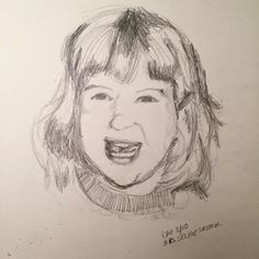 """Day My mother told me to """"Smile big! It was cool to see some of the subtle changes, I don't smile big like that nearly as often as I should. Sketches Of People, Smile, Big, Human Sketch, Smiling Faces"""