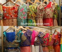 The newly established Mugdha Art Studio by Hyderabad designer Sashi Vangapally has a vast collection of designer blouses and sarees which are drool worthy!