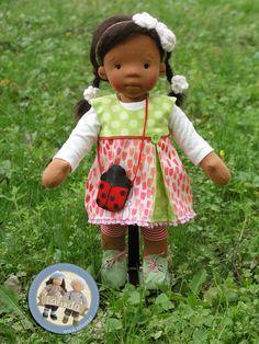 Kelly – ciemnoskóra lalka szmaciana  |  Lalinda