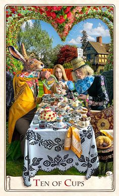 Alice in Wonderland Tarots