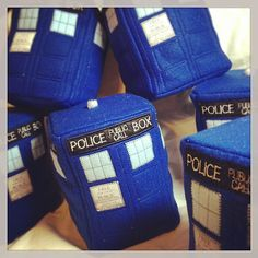 #Doctor Who - #Tardis Plush #etsy