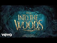 """No One Is Alone (From """"Into the Woods"""") - Youtube: This song fits my voice but may be difficult to audition with because of the separate parts and other voices incorporated into it aswell."""