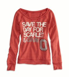 Ohio State Vintage Raglan T-Shirt -- SOMEONE BUY ME THIS RIGHT NOW PLEASE