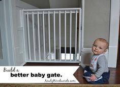 Building a better (and prettier) baby gate