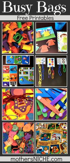 Busy Bags - great for toddlers preschoolers (scheduled via http://www.tailwindapp.com?utm_source=pinterest&utm_medium=twpin&utm_content=post7055032&utm_campaign=scheduler_attribution)