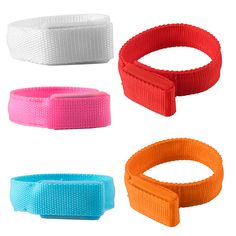 LED Flashing Light Arm Band Sport Wrist Strap Nylon Band Bracelet For Running Jogging Cycling Camping Concert Disco Party