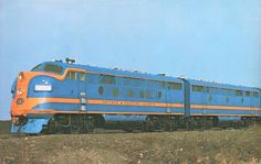 CHICAGO - TRAIN - CHICAGO AND EASTERN ILLINOIS - DIESEL LOCOMOTIVE 1203 - 1948
