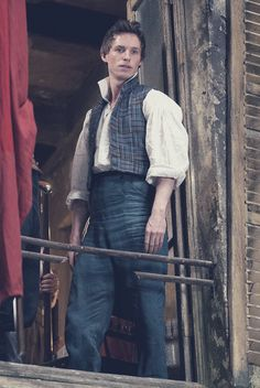 Eddie Redmayne (playing Marius Pontmercy), Les Miserables 2012 . Brilliant…