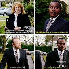 11x16 Safe House // Rufus: It's officially none of your damn business, ma'am.