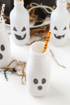 DIY \ Halloween Boo Bottles