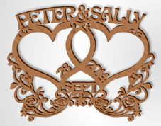 Scroll Saw Patterns :: Miscellaneous :: Alphabet projects :: E is for Eagle and Elephant -