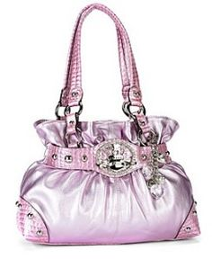 "Kathy Van Zeeland ""Crown Princess"" Belt Shopper"