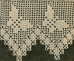 Delivery to your email address  (within 24 hrs of purchase.  http://crochet-patterns.ecrater.com    Butterfly Pattern Crochet Vintage - edging crochet