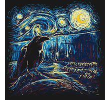 "OMG....LOVE!!!! Corvidae is channeling Vincent Van Gogh!! ""Starry Night's Watch"" by girardin27"