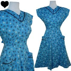 Check out this item in my Etsy shop https://www.etsy.com/listing/237499761/dress-vintage-40s-50s-novelty-print-tops