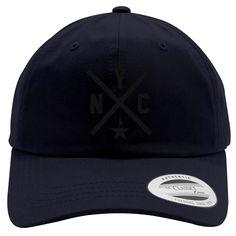 Hamilton Nyc Embroidered Cotton Twill Hat