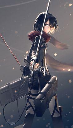 • Mikasa Ackerman - Attack on Titan •