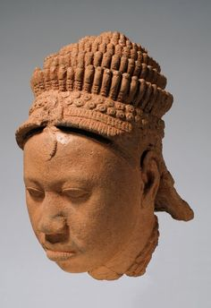 The Nok of central Nigeria created the earliest terracottas in Africa - circa       . This Ife bronze is an interesting example of a continuity of artistic tradition across time and geography.