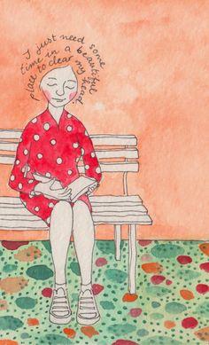 Hirondelle Dessin: Illustration Friday