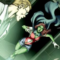 Miss Martian screenshots, images and pictures - Comic Vine Miss Martian, The Martian, Young Justice Characters, Fictional Characters, Dc Comics Girls, Martian Manhunter, Green Girl, Nightwing, Teen Titans