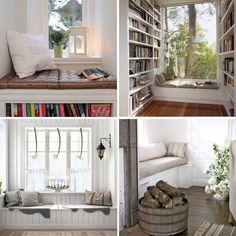 <p>Raambankjes zijn erg populair. En dat is heel logisch want een raambankje is de ideale plek om even heerlijk tot rust te komen met een boek, tijdschrift of tablet onder het genot van een warm kopje koffie of thee. Zou jij thuis ook graag zo'n raambankje willen hebben? Doe dan inspiratie op met deze foto's van de tien leukste raambankjes van Welke.nl!</p>