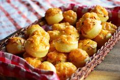 Pogacsa. The best Hungarian food. Cheesy, buttery, biscuit bites.