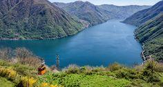 Lago Como, Italia.