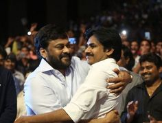 Like we said earlier, Pawan Kalyan is not present at the mega launch of Megastar Chiranjeevi's 150th film...