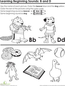 Identifying Initial Consonant Sounds: Missing Letters