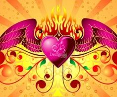 Free Vector Graphic  Winged Heart
