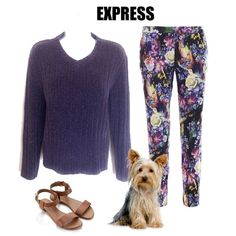 """Express Purple Sweater Super cute purple sweater by Express. Long sleeved marble soft knit, warm, v-neck and straight cut. Measures approx 23"""" shoulder to hem. Like New!💕 Express Sweaters"""