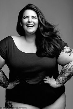 Plus-size stunner Tess Holliday said she wants to 'challenge societies perception of beauty' #curvies
