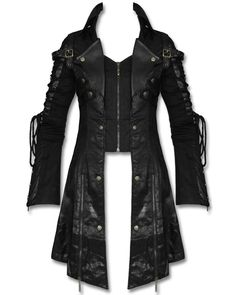 PUNK RAVE MENS POISONBLACK JACKET.....Worn by the amazing Dan Sperry The anti conjuror,